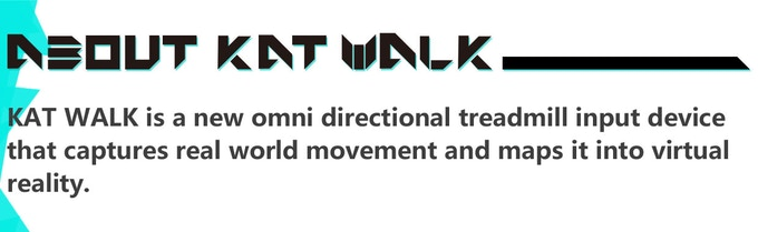 675aa60d6058 KAT WALK is a new omni-directional treadmill for virtual reality. It has  been designed to be as unrestrictive as possible giving the user 360  degrees of ...