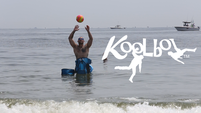 Floating Cooler & Floating Koolbol - Play in the water