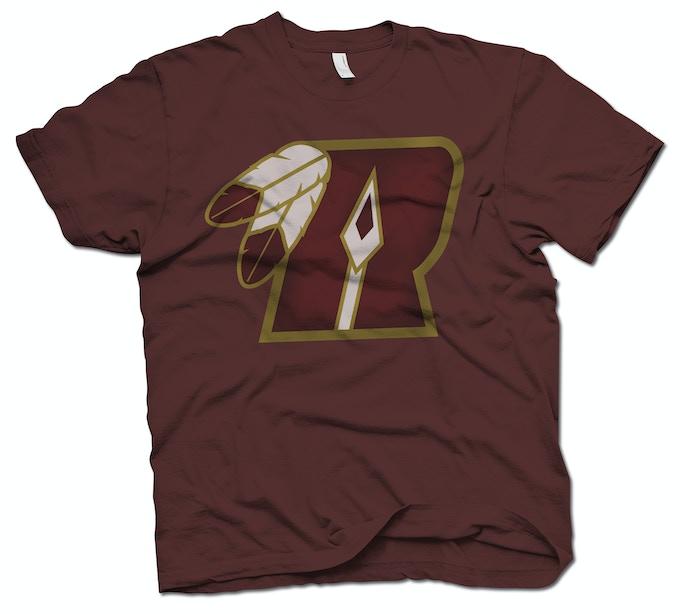 Limited Edition custom-printed Washington Redspears Traditional Logo T-Shirt