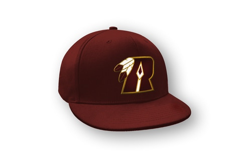 Limited Edition custom-embroidered Washington Redspears Traditional Logo Snap-Back Hat