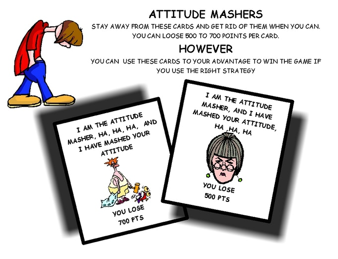 USING YOUR ATTITUDE MASHER CARDS