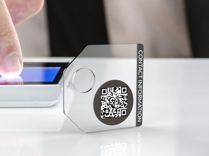 Our transparent tag