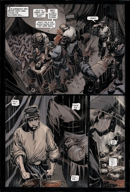 Kros: Hallowed Ground pg 2 color
