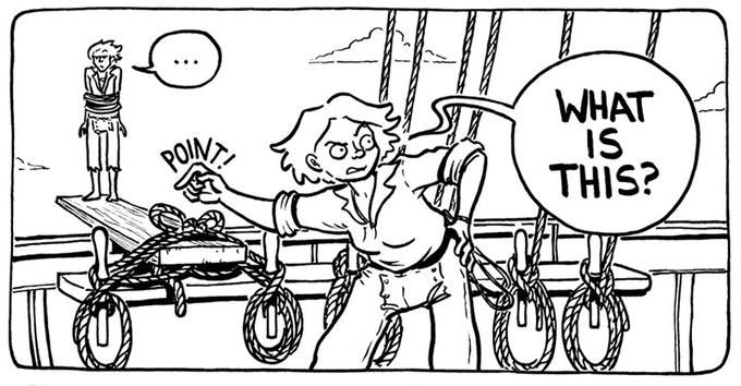 Baggywrinkles: A Lubber's Guide to Life at Sea by Lucy