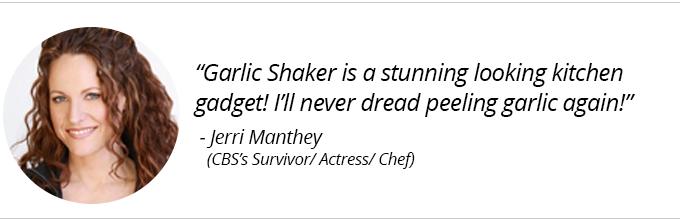 Garlic Shaker - Jerri Manthey