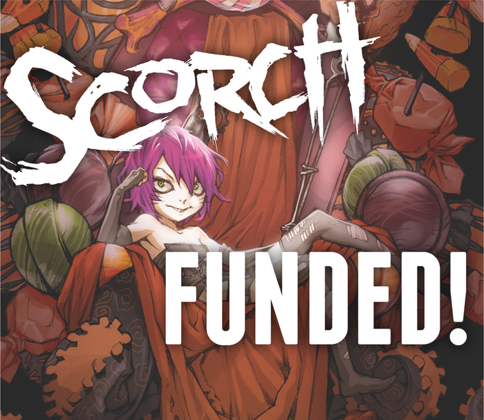 Before her epic, Squarriors, Ashley Witter created the webcomic SCORCH. Now, SCORCH is coming to print in a collected trade paperback.