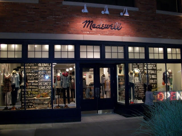 Launch of Madewell Store by J Crew in Seattle, WA