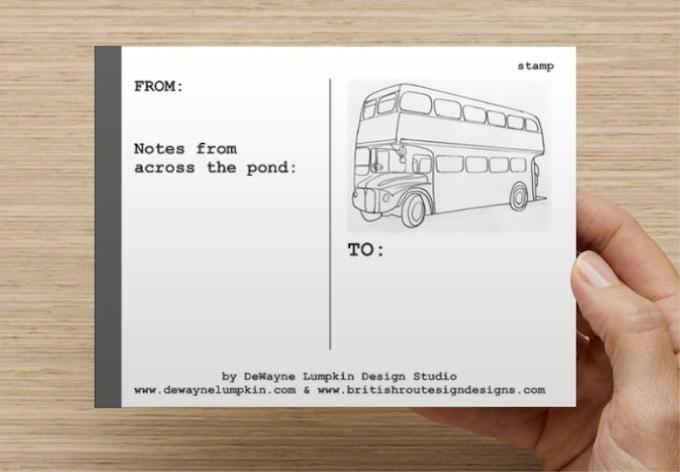 Back of Postcard - SET OF 5 FOR $10 PLEDGE OR SET OF 10 FOR $15 PLEDGE