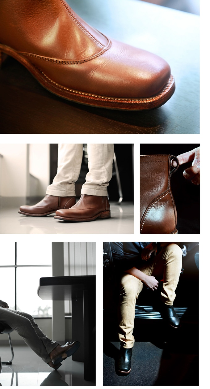 ORCA LEATHERCRAFT : Handcrafted Leather Boots & Shoes by Orca