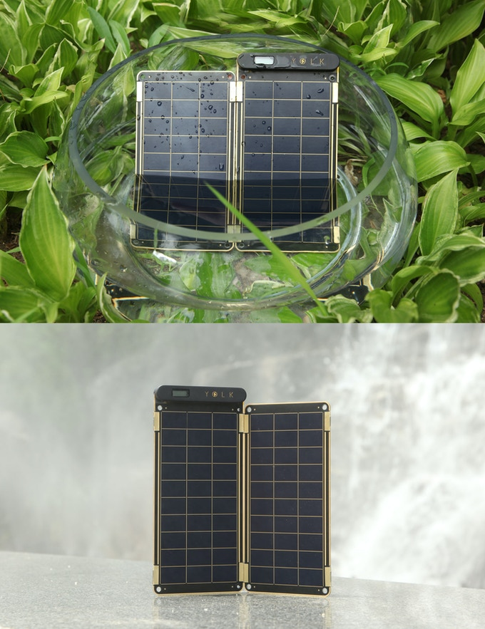 Solar Paper is water resistant