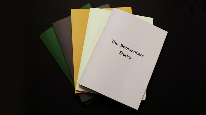 G.F. Smith Colourplan options pictured here. ** All artist editions and dust jacket editions will be signed and numbered.