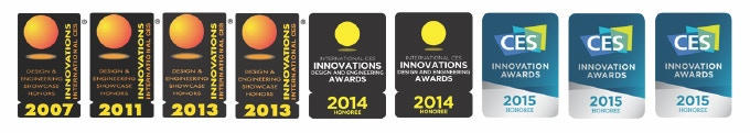9 CES Awards for Design and Innovation