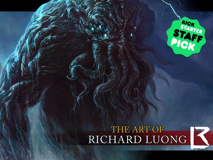 A 160 page hardcover art book and exclusive miniatures from Richard Luong, the artist of Cthulhu Wars. Buy copies at https://www.etsy.com/shop/TentaclesAndTeeth