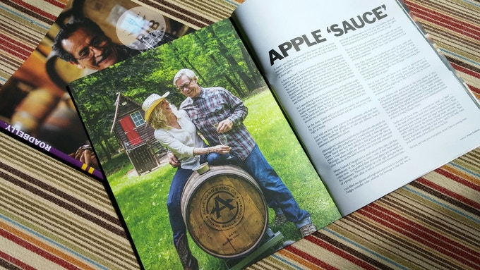 Roadbelly Magazine article about ACME Cider