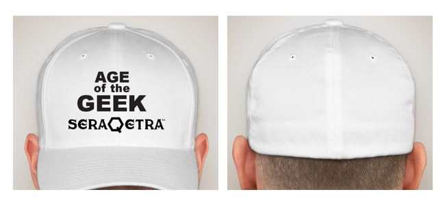 """AGE OF THE GEEK""/SERAQETRA HAT"