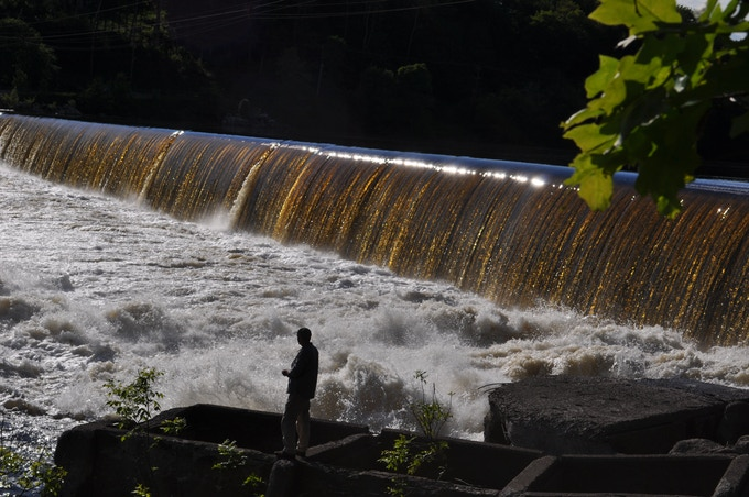 Veazie Dam Penobscot River, USA