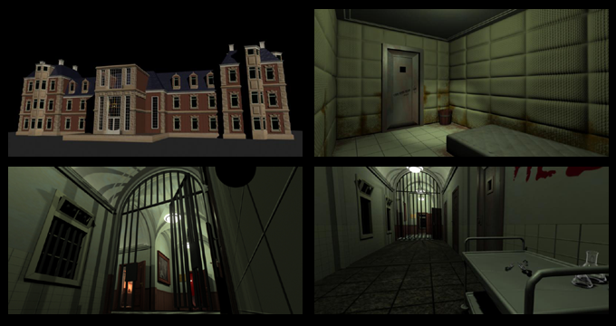 Concept Renders of the Asylum