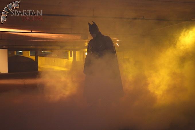 Michael Carter as Batman!