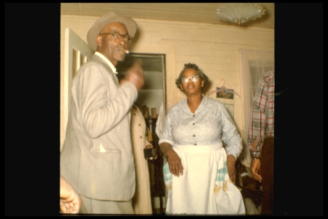 Coy and Bertha Landis circa 1970