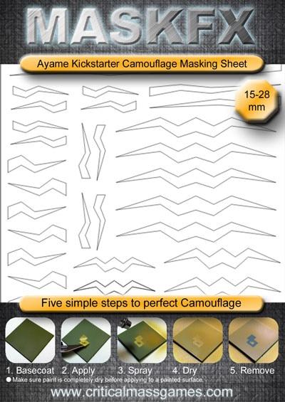 Exclusive Ayame MaskFX Design