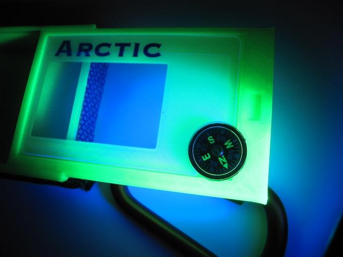 UV Green, shown in UV light.