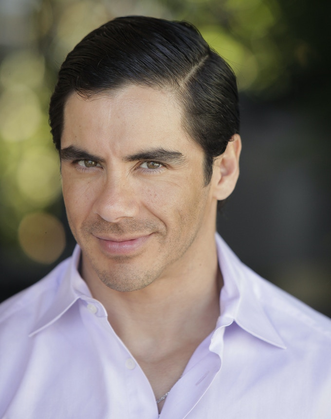Actor Felix Aispuro