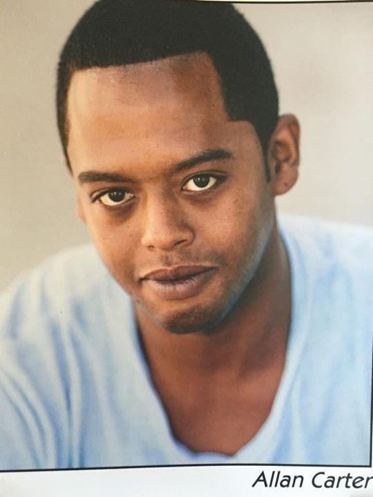 Actor Allan Carter
