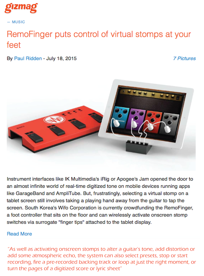 Click the picture to view the article in the Gizmag