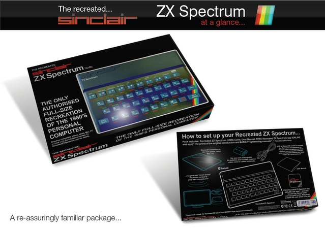 Caption: Backers and those who pre-ordered the Recreated ZX Spectrum (directly from Elite) should expect to receive their recreated device in early August.