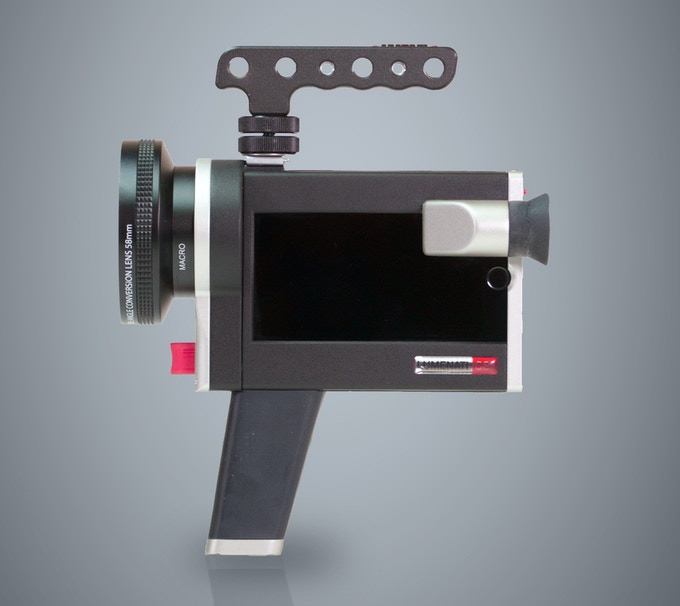 attach the sport handle for moving shots