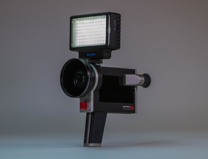 add a light for fantastic night footage