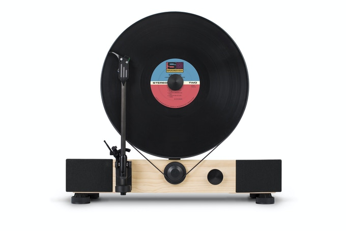 Floating Record MDF w/ Maple Veneer (Production Version)