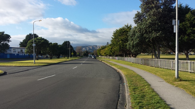 Paraparaumu (Location for the shoot)