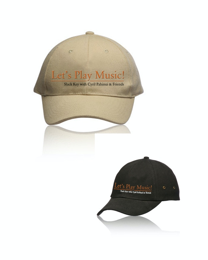 Let's Play Music Logo Caps