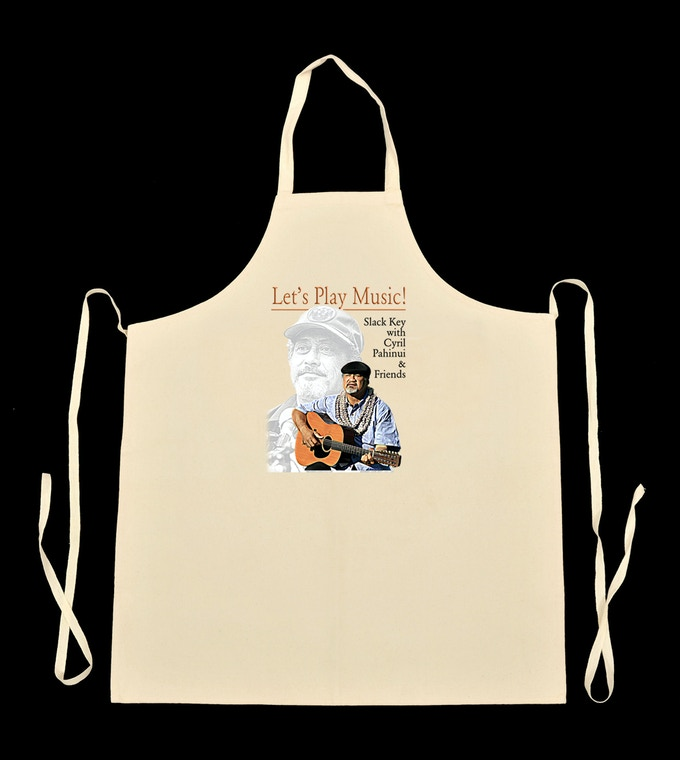 Let's Play Music Logo Apron