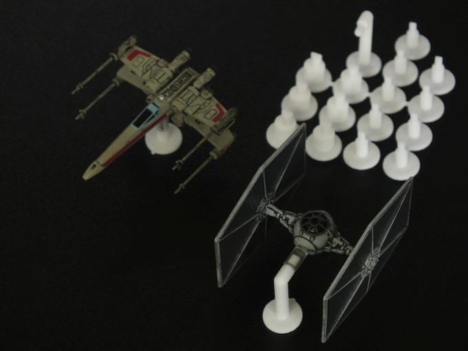 3-D printed samples