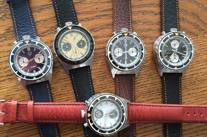Final standard leather straps in multiple colors. Made in Germany!