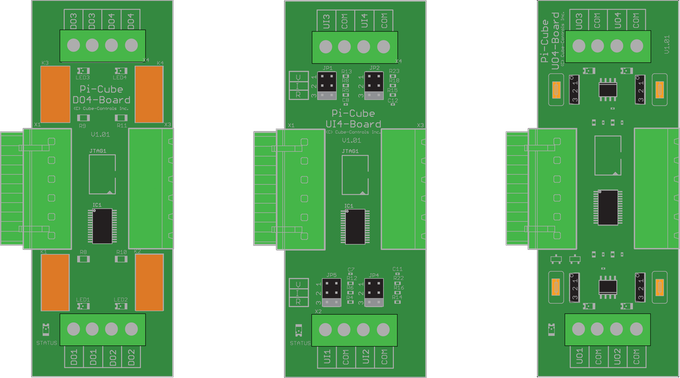 Pi Cubes I/O Modules