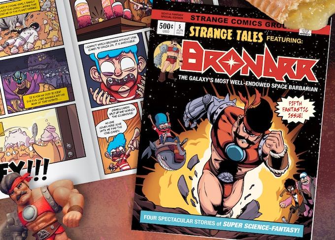 Issue#5 cover artwork by Jonatan Cantero