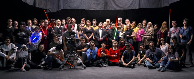 The Cast and Crew of Star Trek Wars