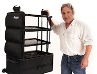 Shelfpack A New Kind Of Luggage With Built In Shelves By