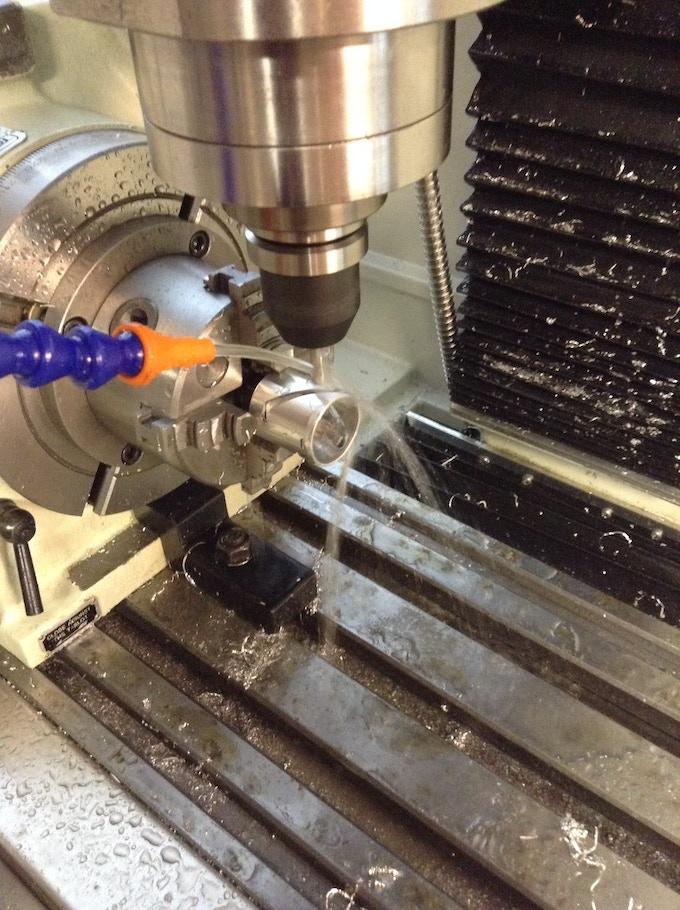 Machining the bezel