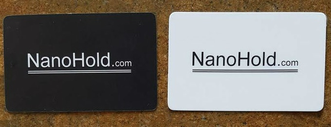 NanoHold Cover - Front and Back