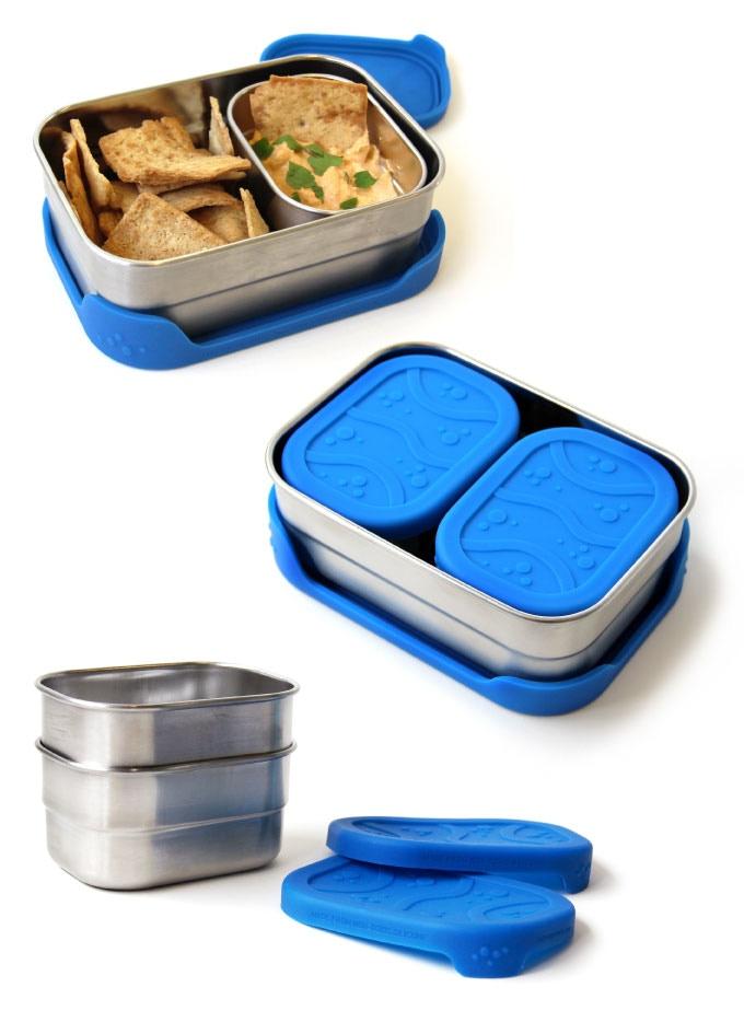 blue water bento ocean friendly lunchware by ecolunchbox by sandra ann harris kickstarter. Black Bedroom Furniture Sets. Home Design Ideas