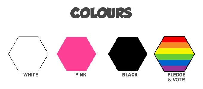 Pledge and vote for your favourite 4th colour!