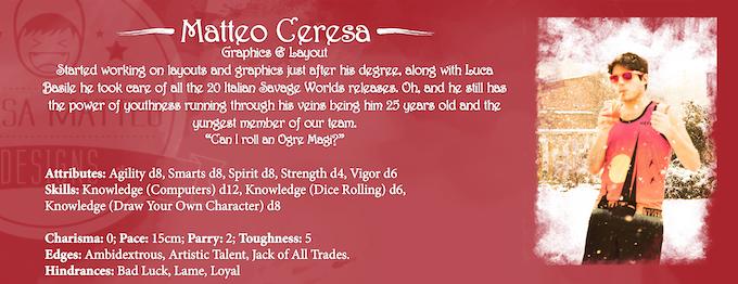 Enascentia - High Fantasy TRPG for Savage Worlds by Gionata Dal