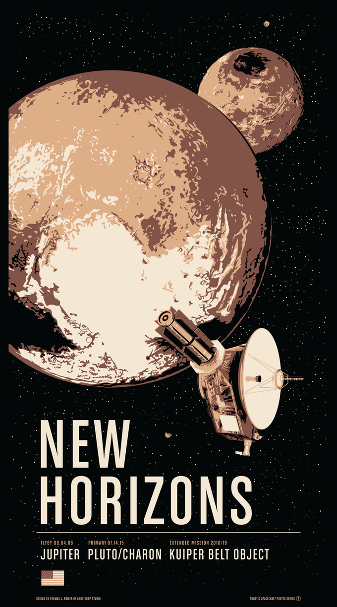 Poster #7 for New Horizons at Pluto/Charon