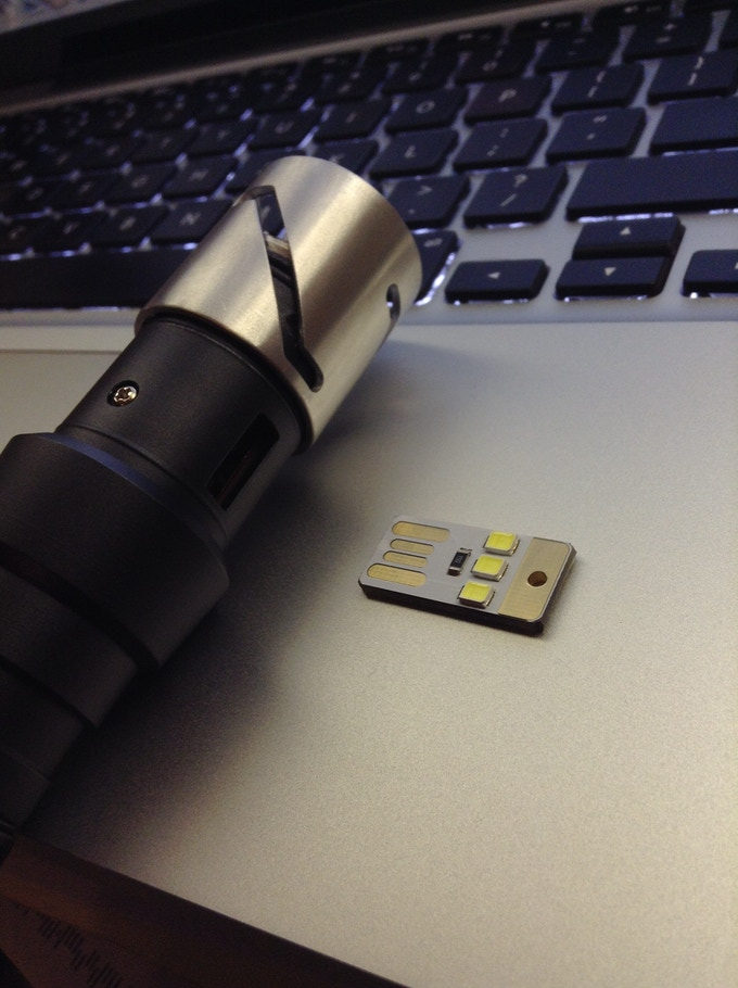 A mini usb plug-in light for added functionality, this makes a perfect night light. (not included with rewards)