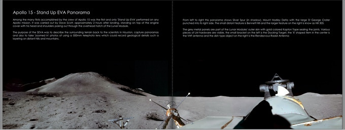 Apollo 15 Stand Up EVA Panorama