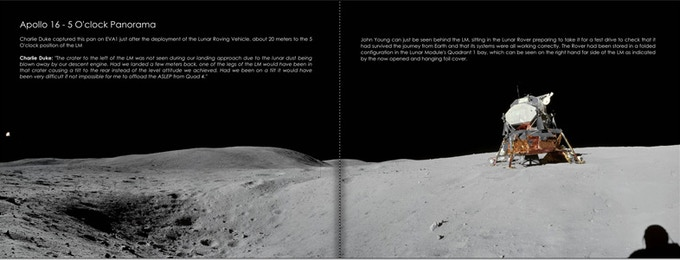 Apollo 16 -  5 O'clock Panorama